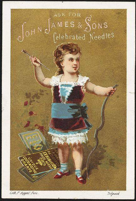 Ask for John James & Sons celebrated needles. [front] | Flickr : partage de photos !