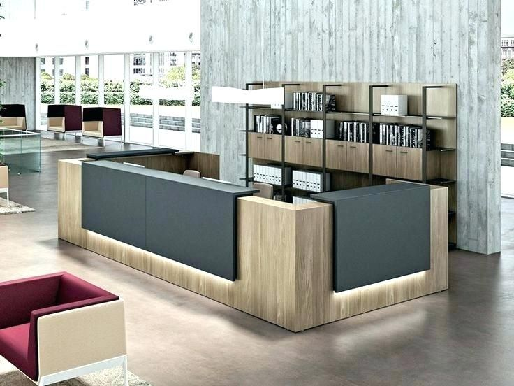 receptionist desk ideas office reception desk ideas office front rh pinterest com