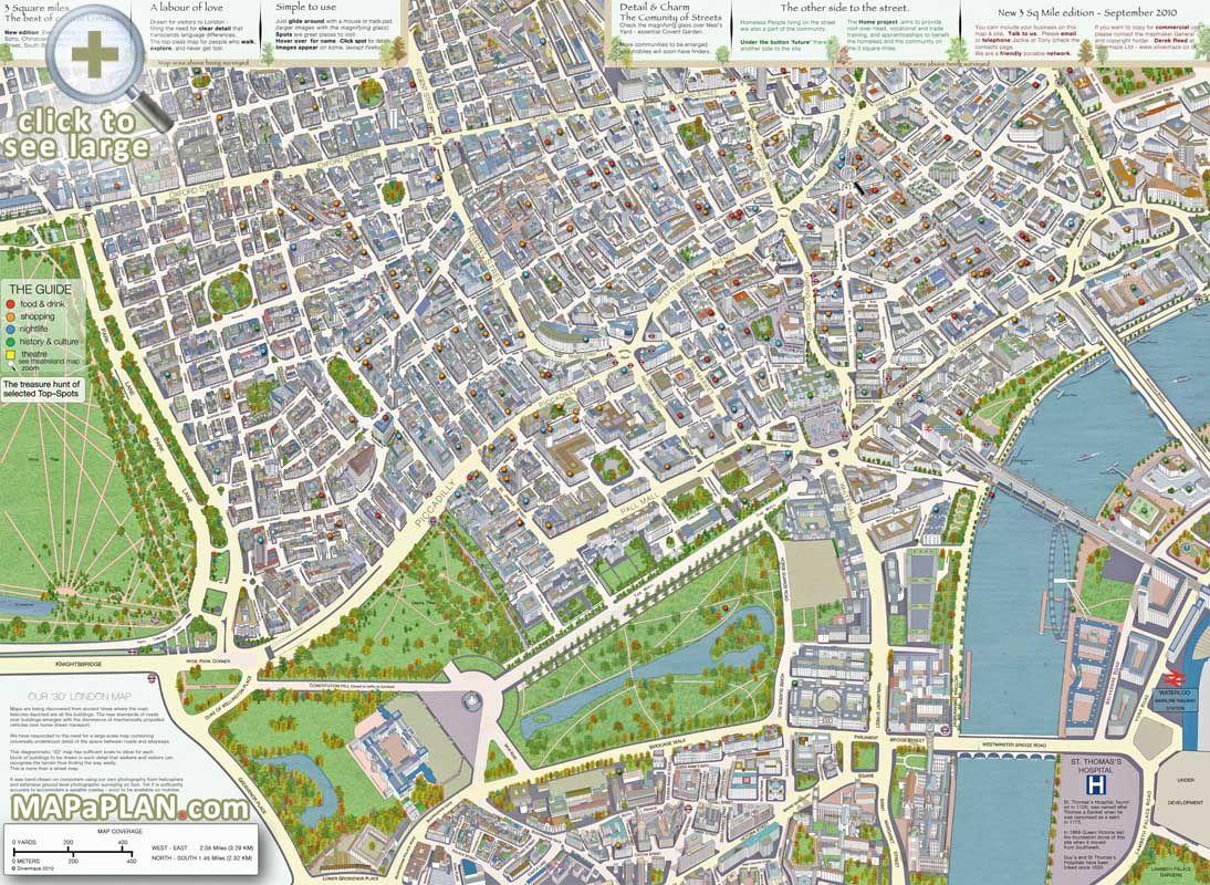 london top tourist attractions map d buildings  london everytime  - london top tourist attractions map d buildings