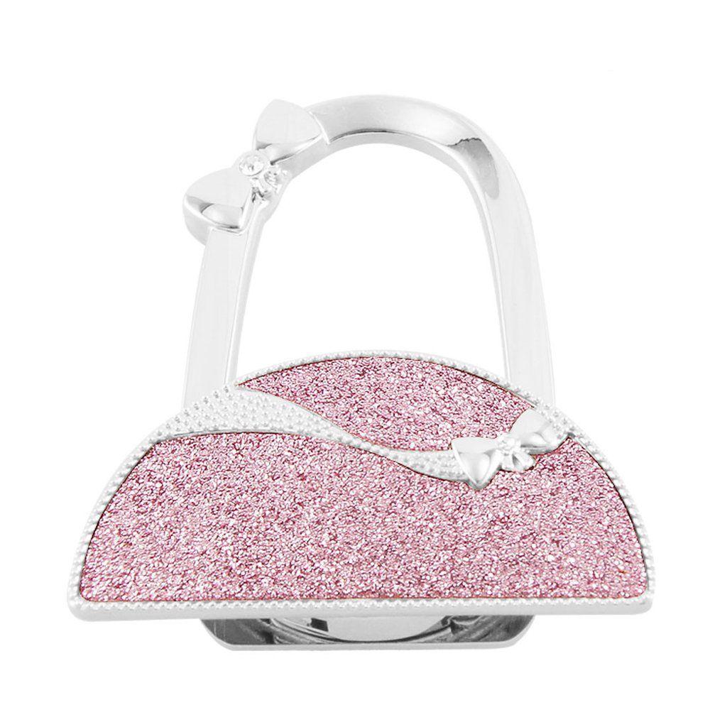 Purse Handbag Hanger Holder Glittering Semicircle Shape