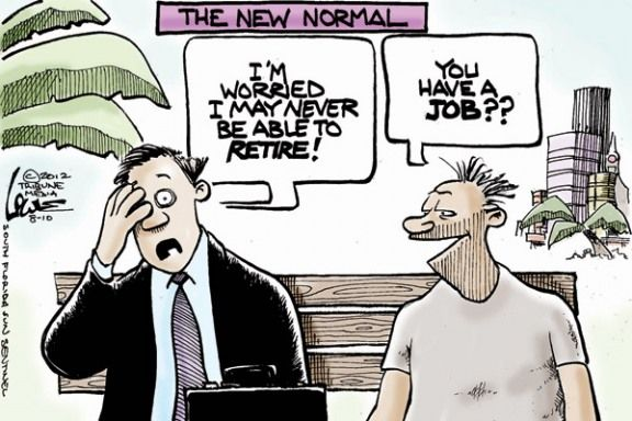 Is This Really The New Normal With Images Editorial Cartoon