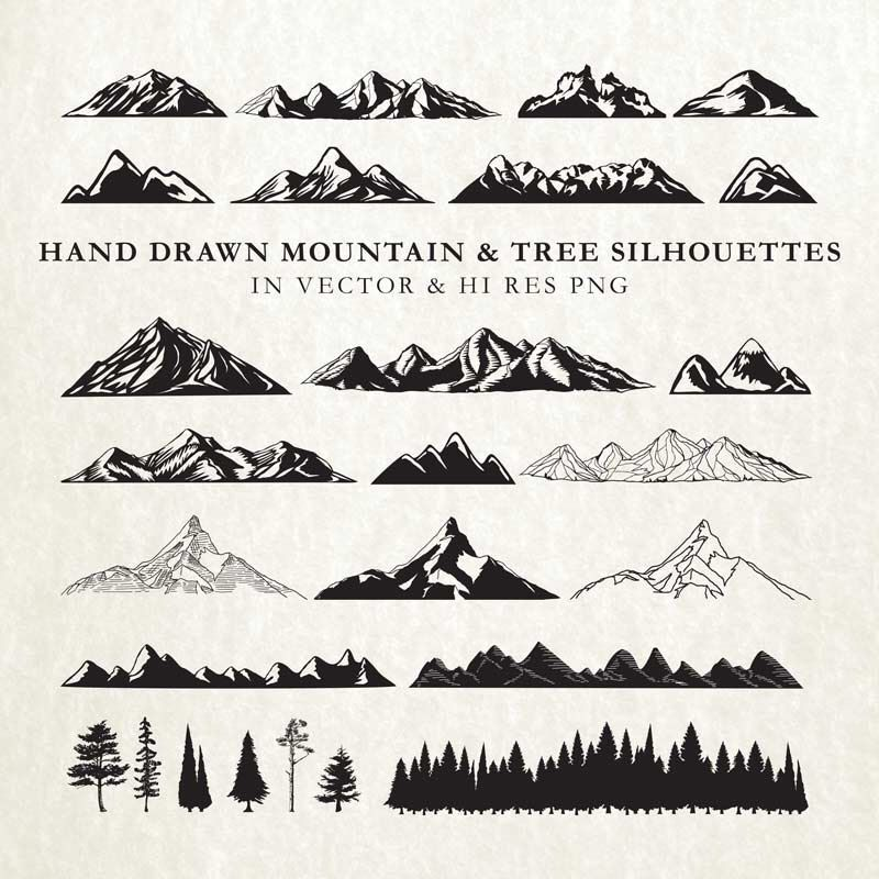 39+ Free mountain svg cut file trends