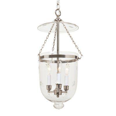 Bell jar pendant polished nickel with star glass amin bell jar pendant polished nickel with star glass aloadofball Choice Image