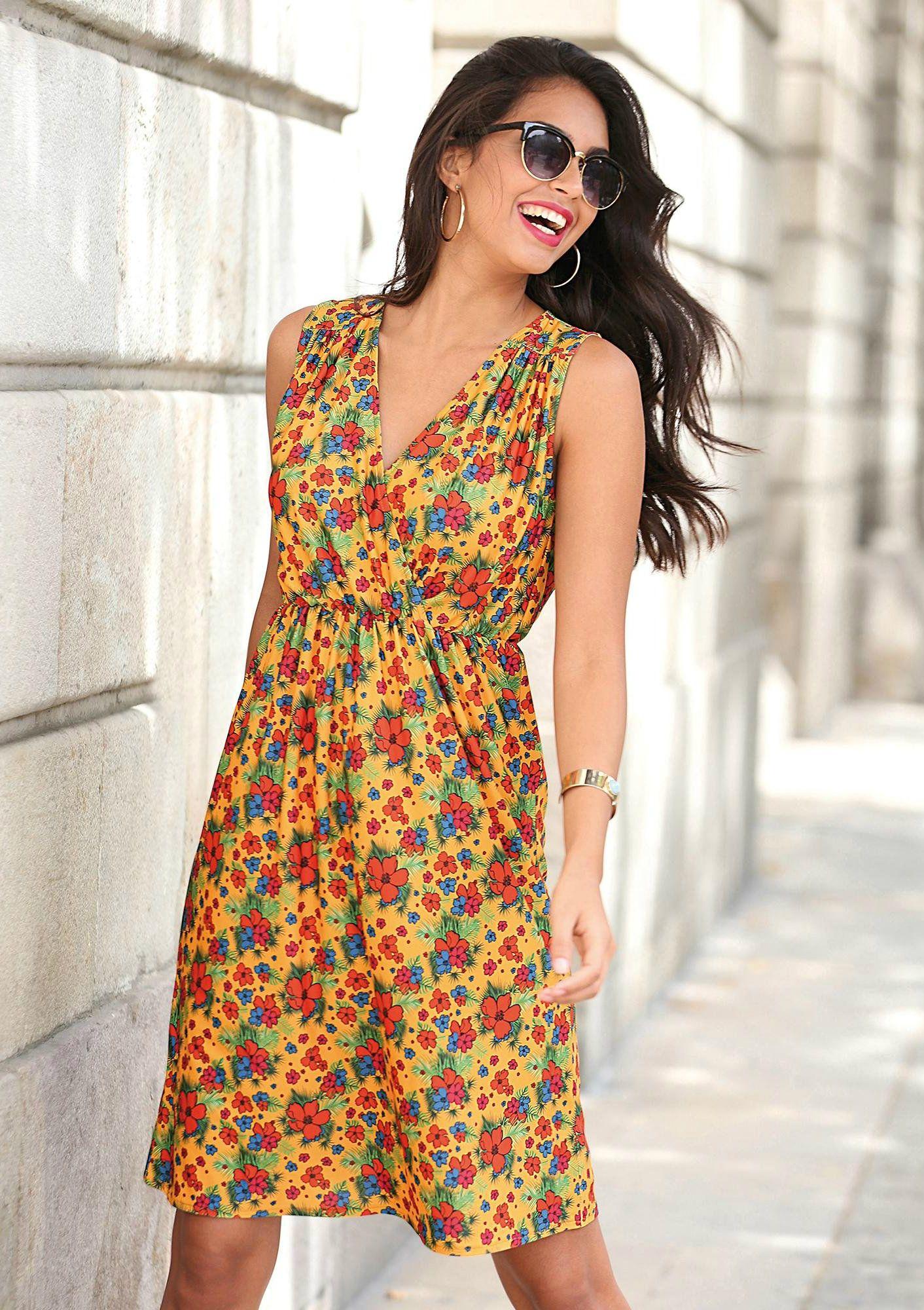 357d0cb10c8 Robe courte femme Exclusivité 3SUISSES - Imprimé