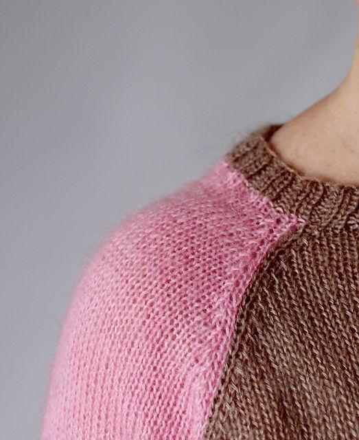 Summer Raglan Sweater Pattern By Eline Oftedal Ravelry Patterns