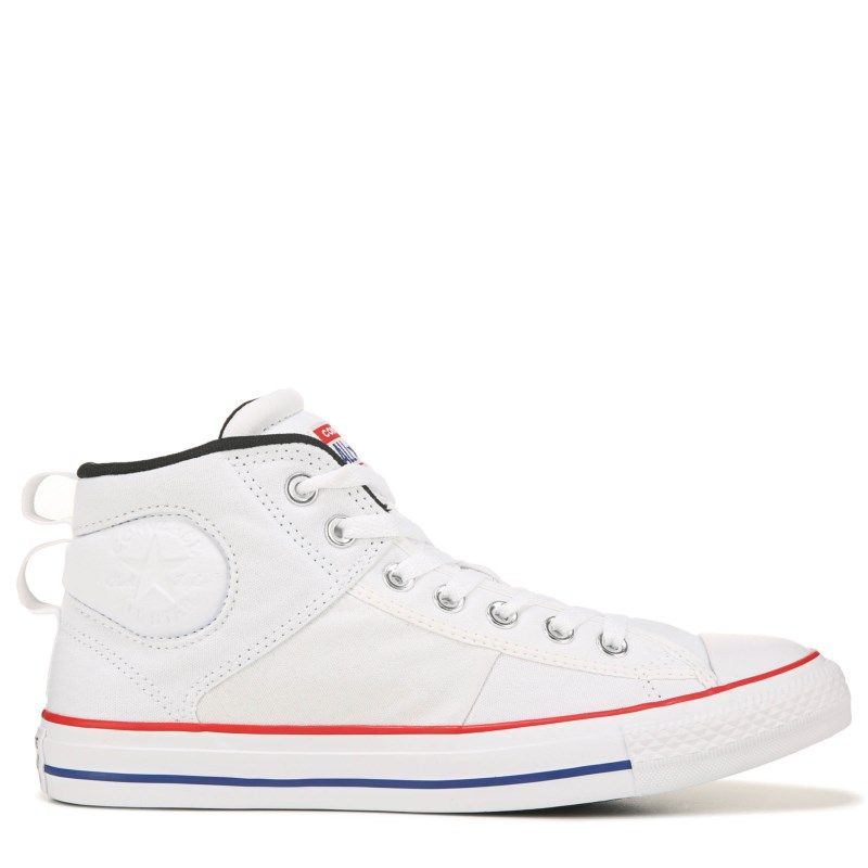 Converse Men's Chuck Taylor All Star CS Mid Top Sneakers (White)