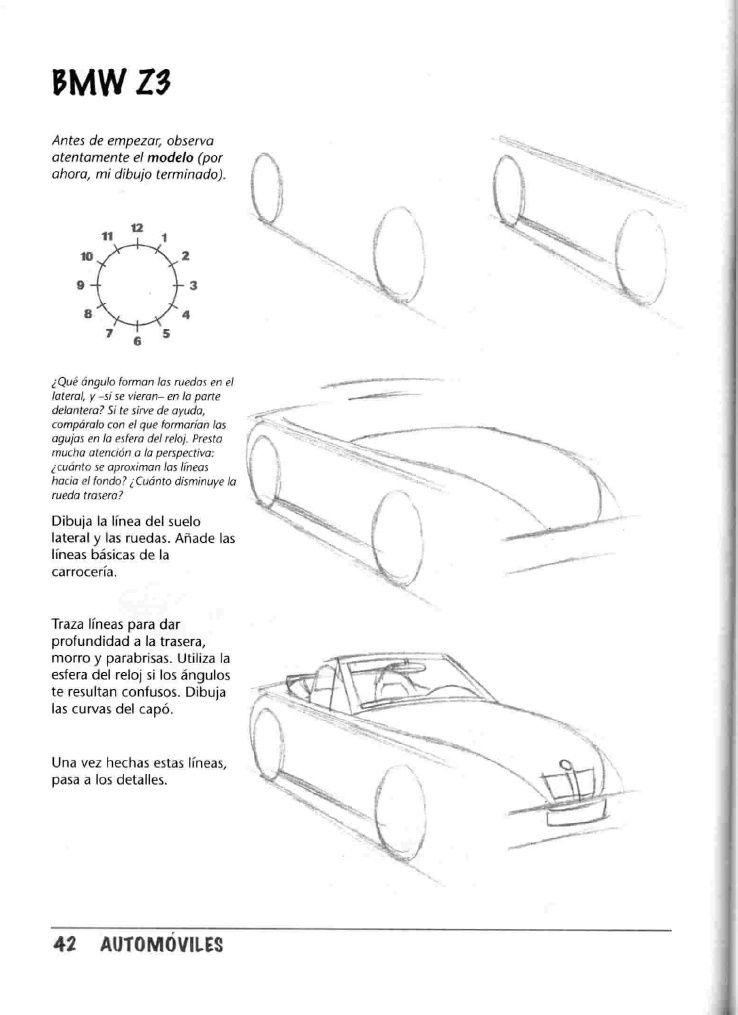 Como Dibujar Autos Paso A Paso Car Design Sketch Design Sketch Car Drawings