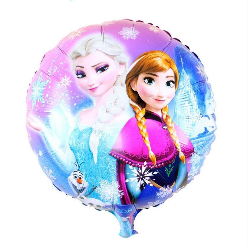 5pc Cartoon Frozen Queen Anna Elsa Girls Birthday Party