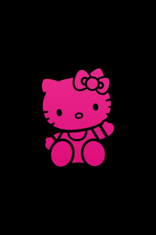 Rose Hello Kitty Wallpapers For Iphone 5s Backgrounds Jpg 640 960