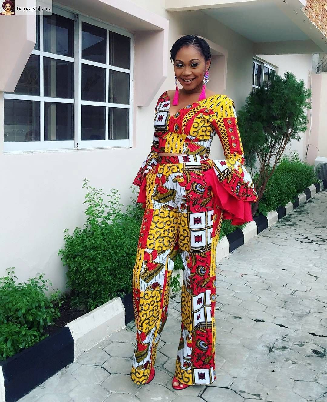 ed295f98553 Top 100+ Unique Ankara Jumpsuit You Should Rock To Your Next Party -  Wedding Digest Naija