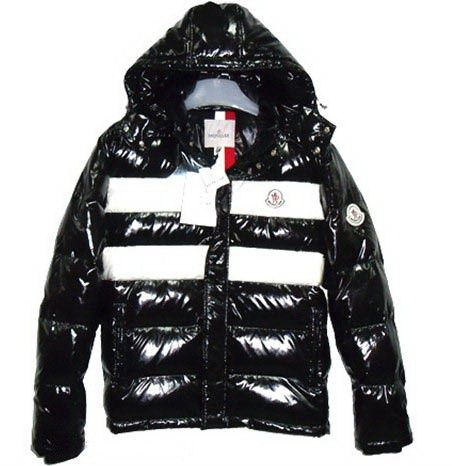 Black Shiny Puffer Jacket,Moncler Shiny Thomas Mens Down Jackets ...