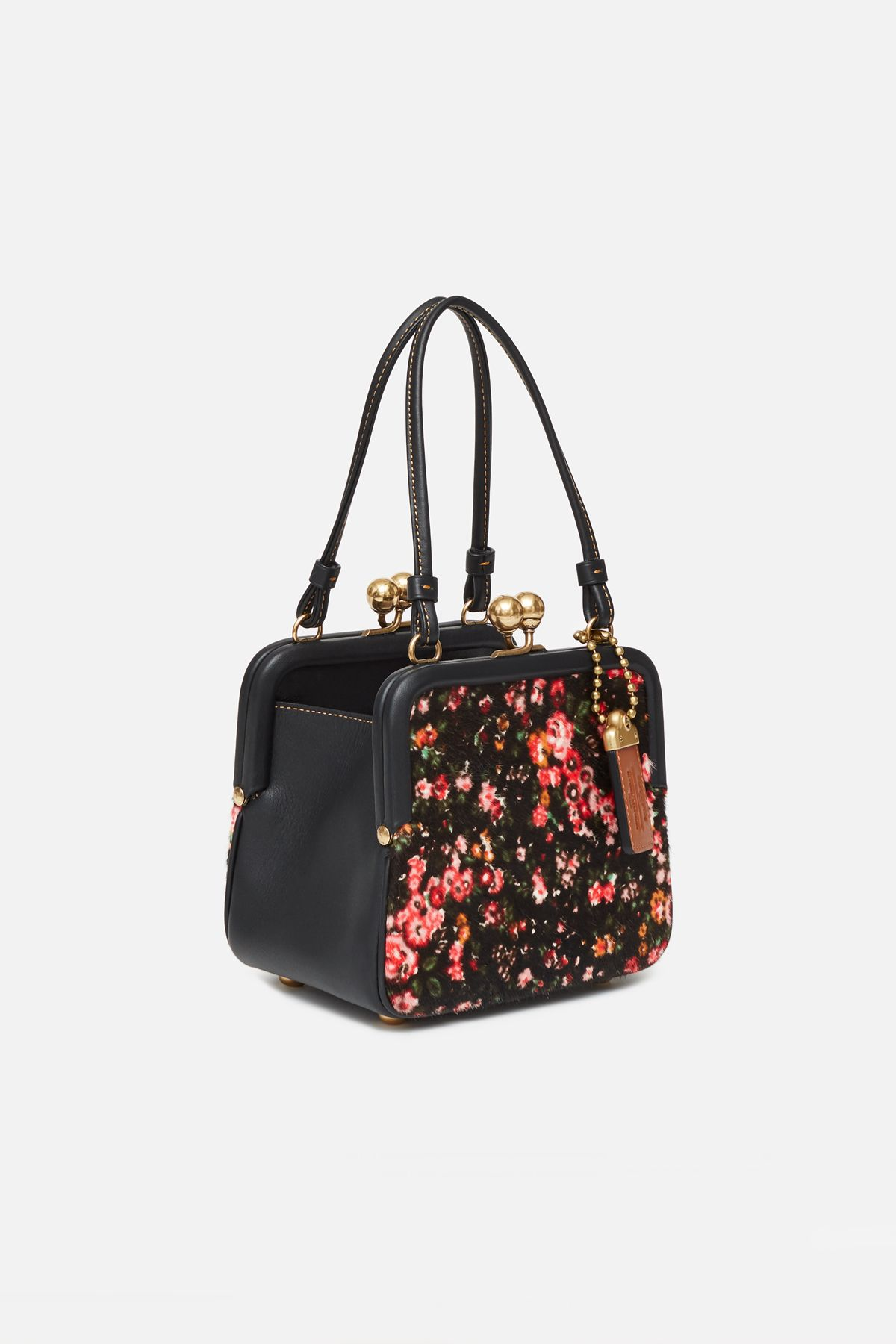 5656638258ab COACH 1941 X OPENING CEREMONY SQUARE HAIRCALF TALL FRAME BAG $595 ...