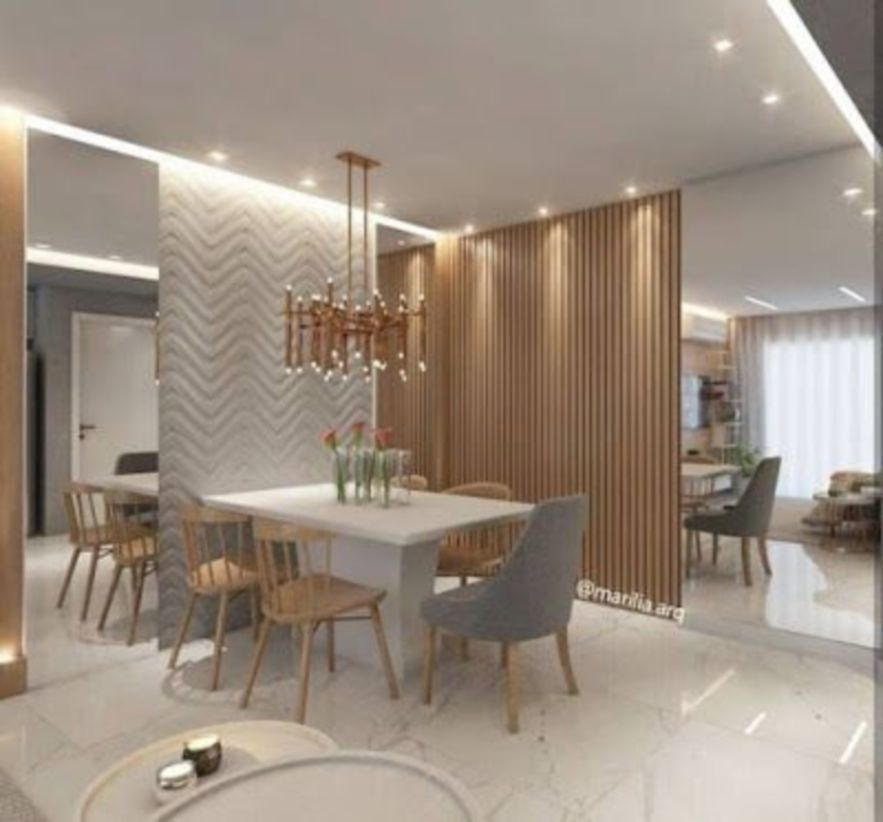55 Best Kitchen Lighting Ideas: 55 The Best Modern Dinner Table Design