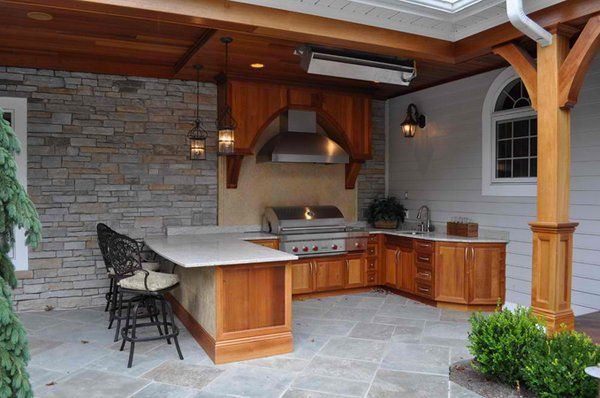 15 Ideas For Highly Functional Traditional Outdoor Kitchens Brilliant How To Design An Outdoor Kitchen Inspiration Design