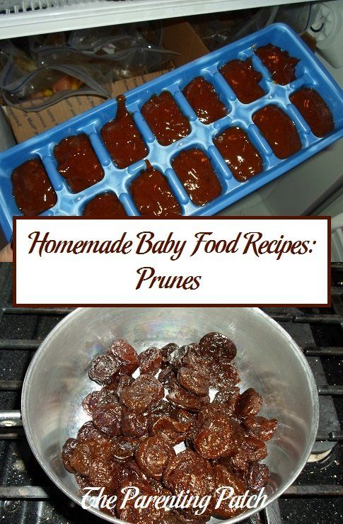 Homemade Baby Food Recipes Prunes Ppatch Pinterest Project