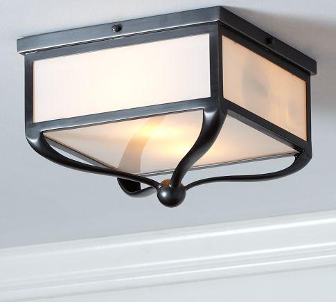 gothic lantern lighting. gothic lantern flushmount | pottery barn - i want to replace the ugly lights on lighting