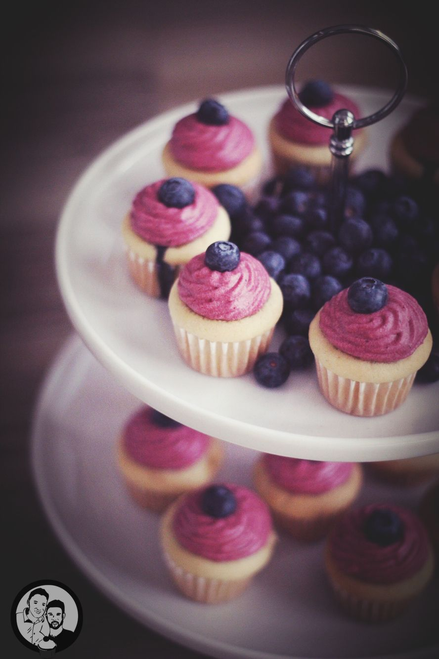 Blaubeer Cupcakes | Filizity.com