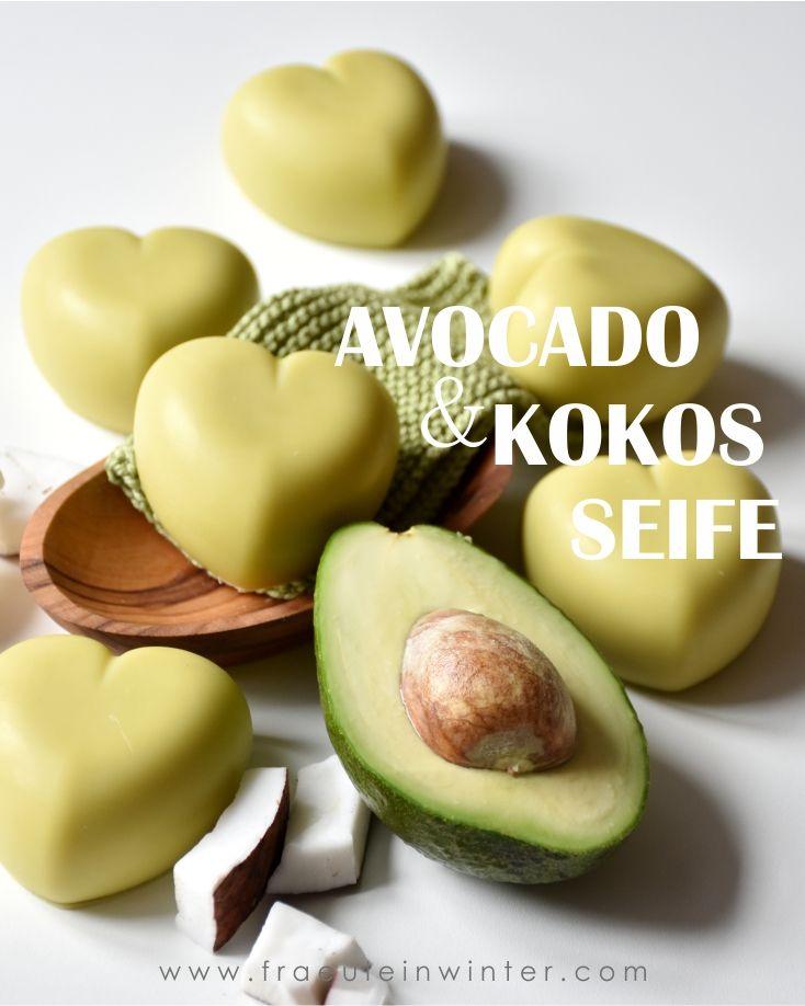 Avocado & Kokos - Avocadoseife - Fraeulein Winter - Handgemachte Seife