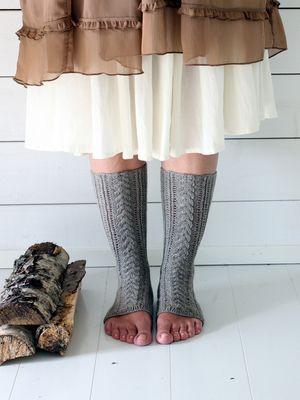 Kärki auki -sukat Novita Nalle   Novita knits