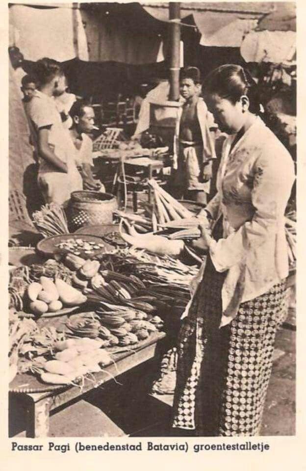Pasar Pagi, Batavia