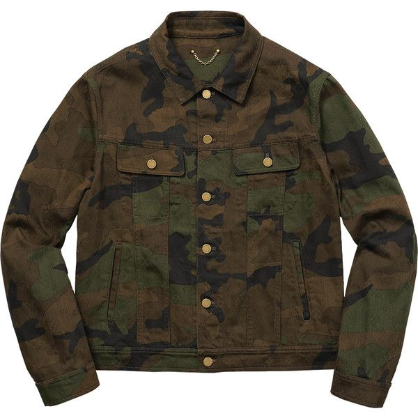 52cbac19c Supreme Louis Vuitton/Supreme Jacquard Denim Trucker Jacket ❤ liked ...