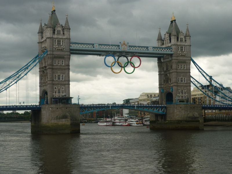 Le pont des J.O. - London UK, London