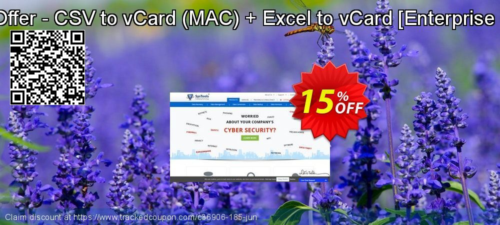 SysTools CSV Converter for MAC + Excel to vCard Converter