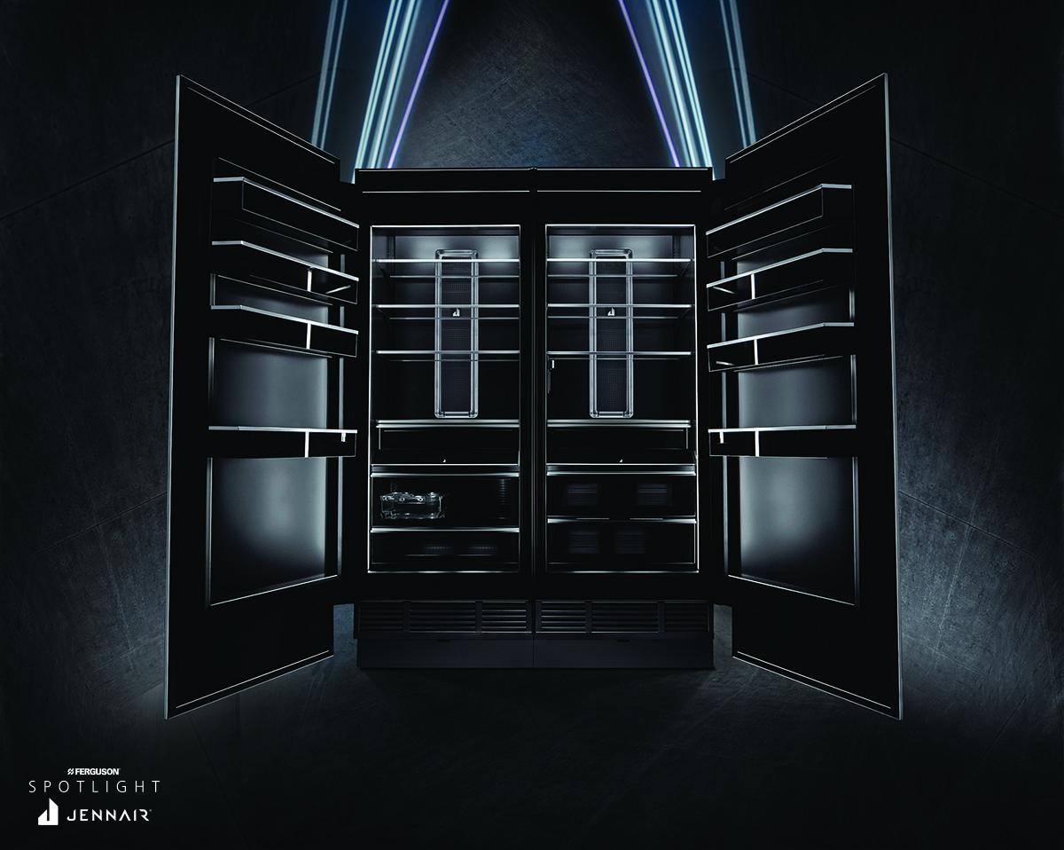 Obsidian Columns by JennAir®   Ferguson Spotlight   Kitchen lighting