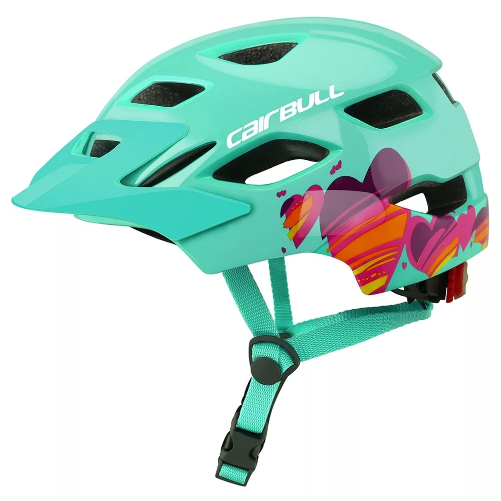 Joytrack Children Cycling Helmet With Taillight Child Skating Riding Safety Helmet Kids Balance Bike Bicycle Protective Helmet Kids Bicycle Safety Helmet Bicycle