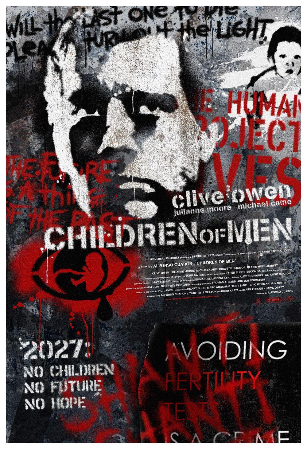 Children Of Men 13x19 By Shokxone Studios Deviantart Com Carteles De Cine Carteles De Peliculas Cine Independiente