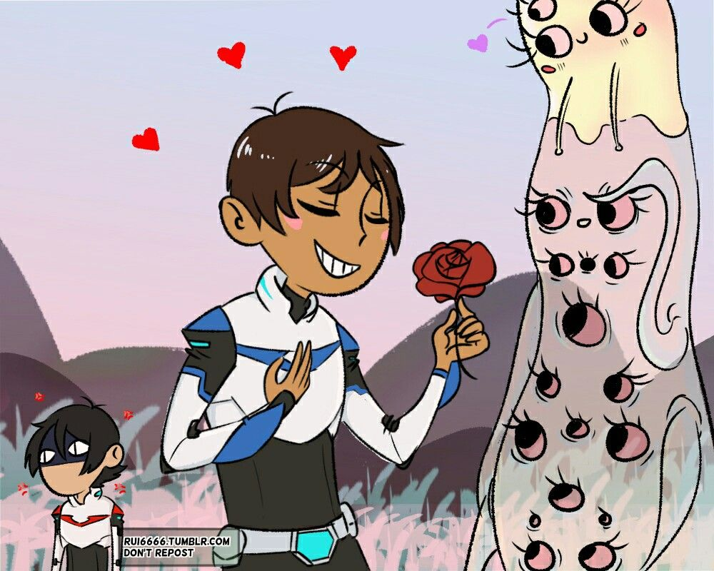 Lance being flirty and Keith being jealous | Voltron