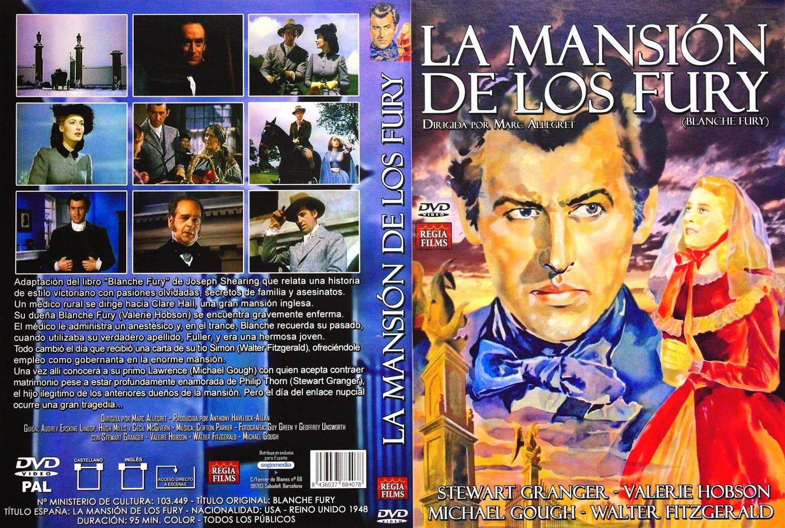 La Mansión De Los Fury 1948 Descarga Cine Clasico Cine Clasico Mansiones Dvd