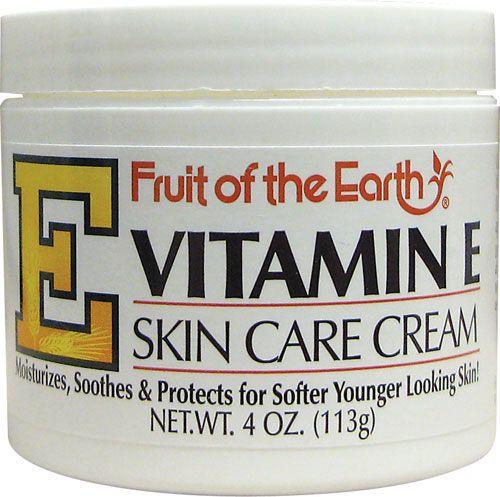 Fruit Of The Earth Vitamin E Skin Care Cream 4 Oz Cream Swanson Health Products Skin Care Cream Skin Cream Best Skin Cream