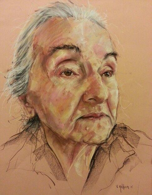 Assez Sena Yıldırım - Soft Pastel Portrait #art #artist #Portrait #paint  NS86