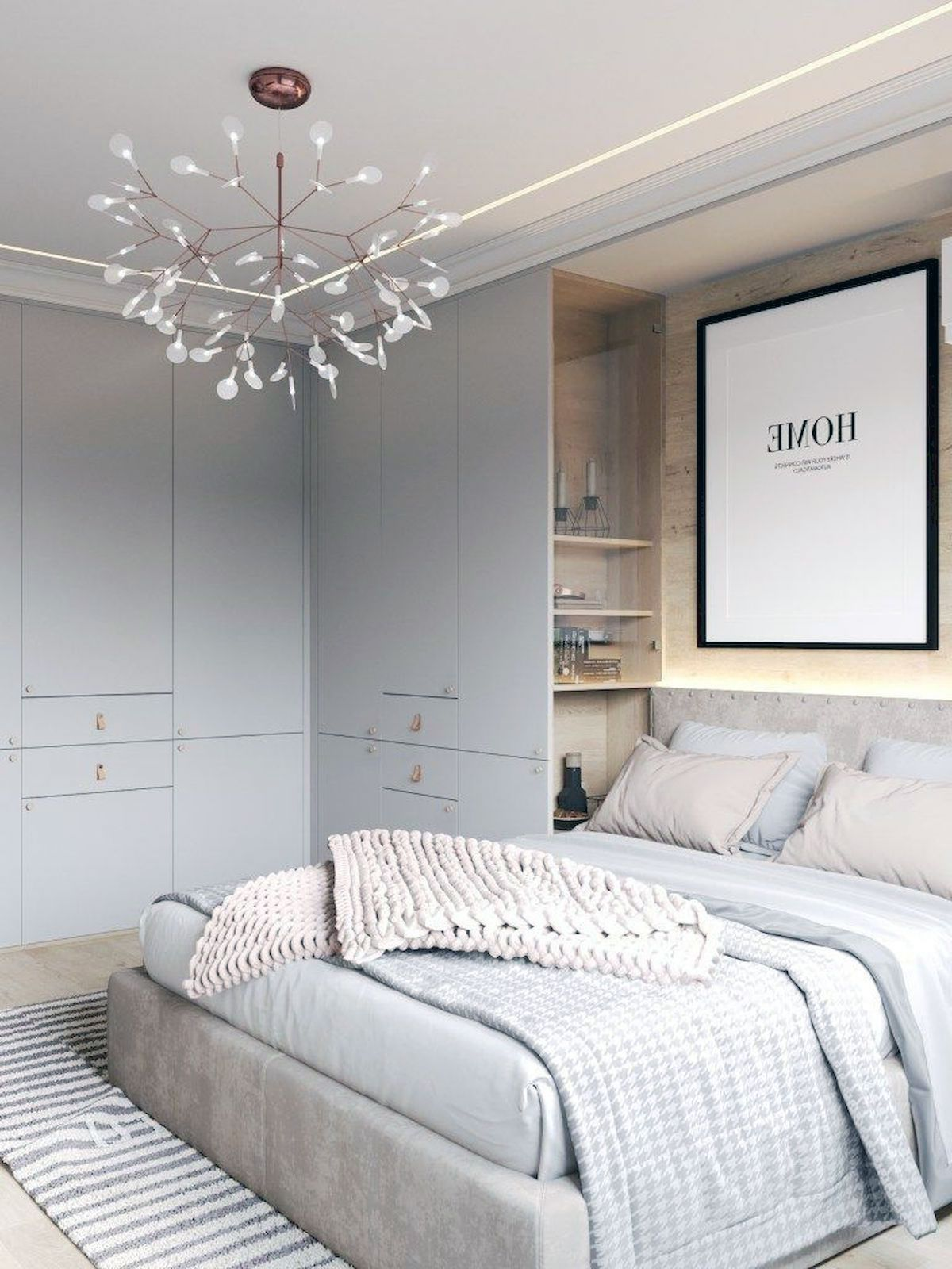 Scandinavian Interior Bedroom Wardrobe Ideas (8) - Outoflineartstudio