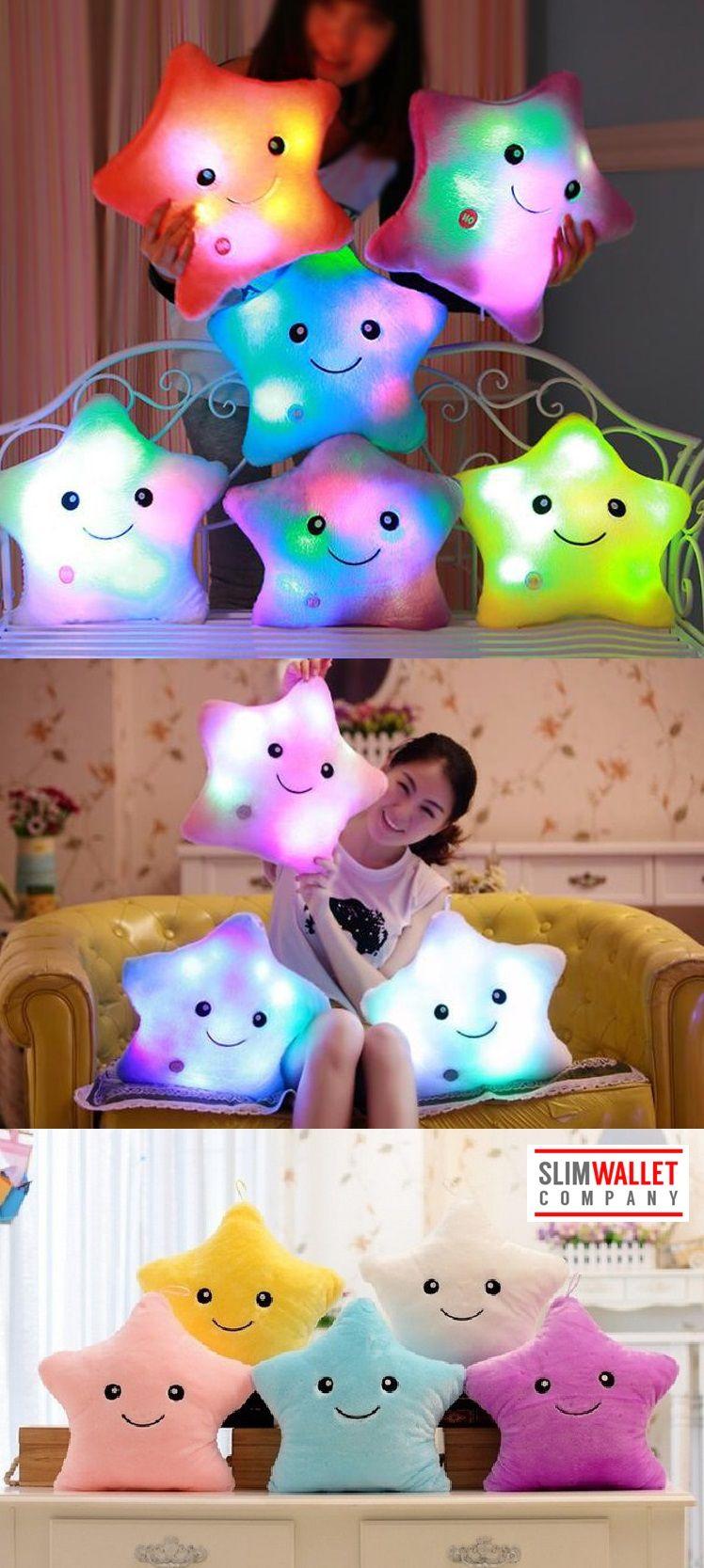 Cute LED Light Up Pillows Life