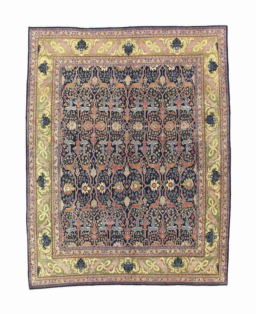 Bijar Carpet West Persia Circa 1900 13ft 1in X 10ft 4in 397cm X 314cm Tapis