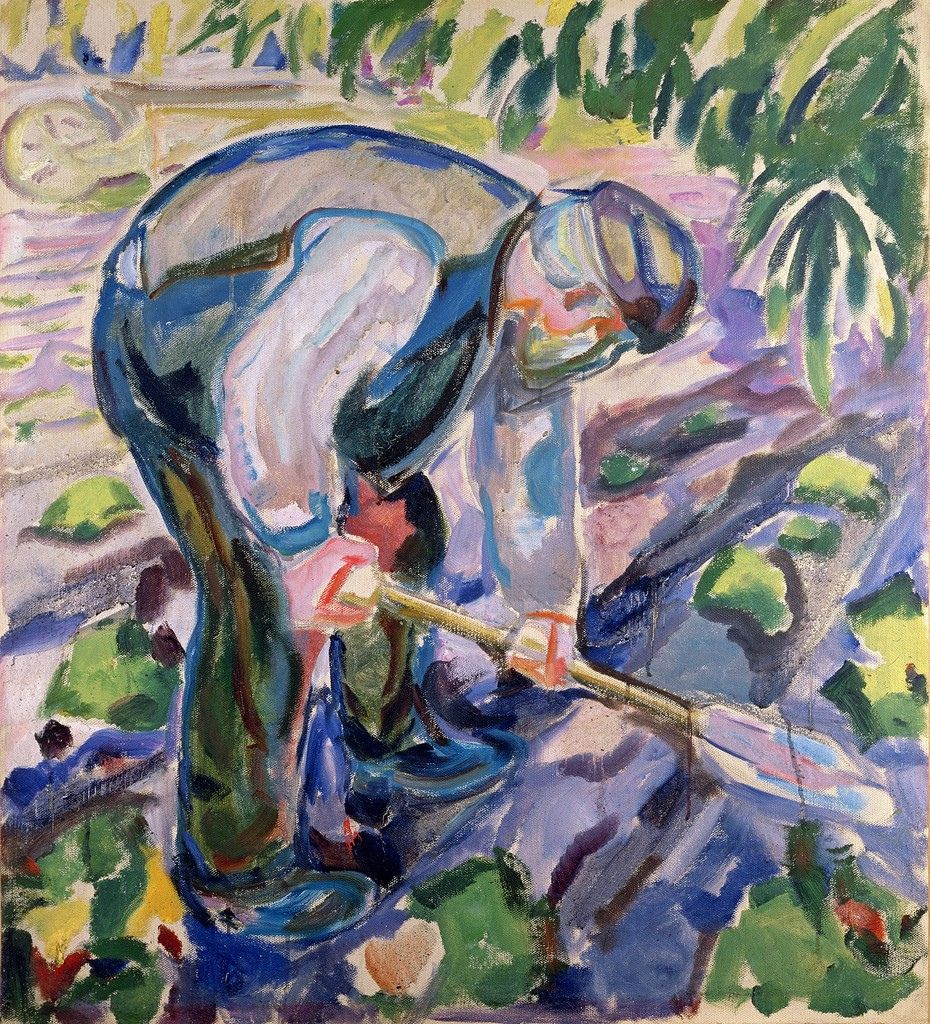 Edvard Munch (1863-1944) - The Grave Digger - s.d.