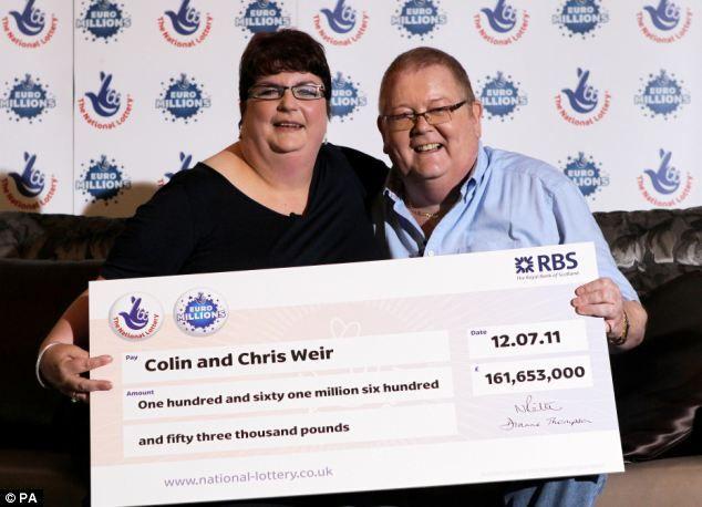 73million UK lottery winner: One ticket picks up
