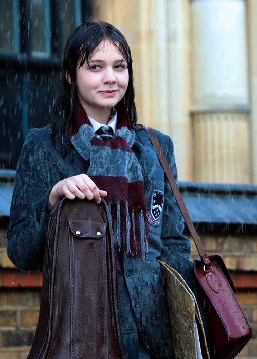An Education Starring Carey Mulligan If You Never Do Anything You Never Become Anyone