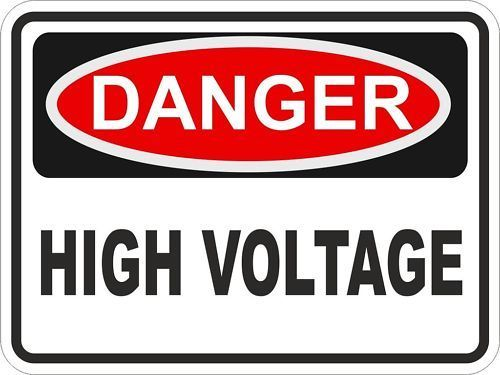 2 5 1x Danger High Voltage Warning Vinyl Sticker For Bumper Laptop Tablet Fridge Car Ebay Collectibles Wall Stickers Baby Girl Stickers Bumper Stickers