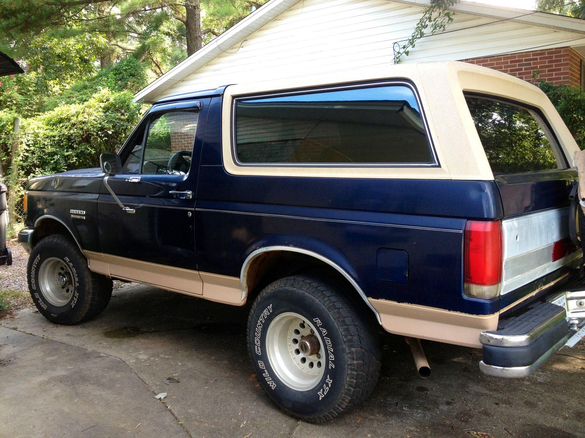 89 Eddie Bauer 302 Ford Bronco Pickup Trucks Bronco