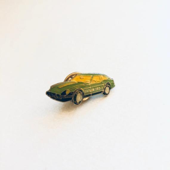 Vintage DATSUN 280 X Blue Lapel Pin, Enamel Pin, Pinback, Hat Pin, Classic Car, …