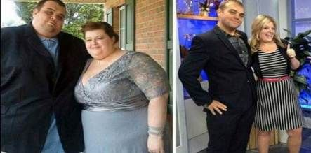 44+ Ideas Fitness Couples Before And After Weight Loss #fitness