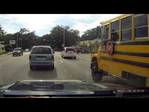 Clear Creek Isd School Bus Accident Caught On Camera Youtube