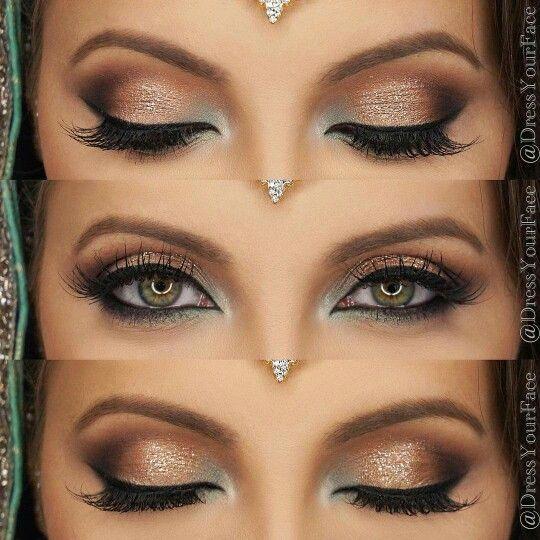 Eye makeup.. Dress Your Face.