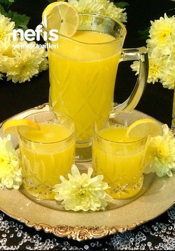 Orjinal Gerçek Limonata Tarifi (Kusursuz)   Rezept   gesunde ...