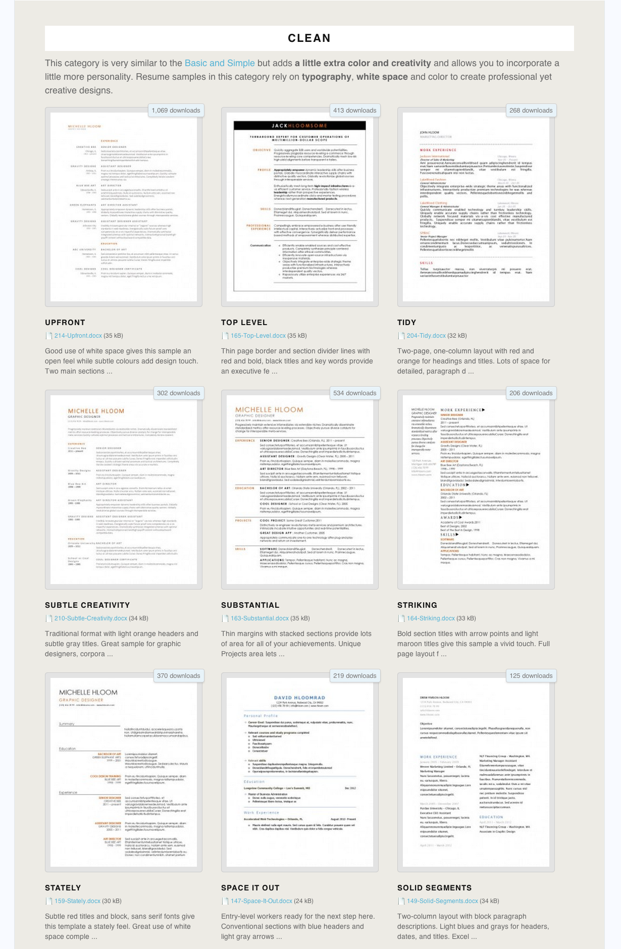 275+ Free Resume Templates You Can Use Right Now