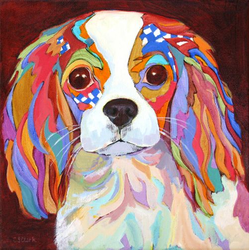 Lovely Lucy - painting by Carolee Clark