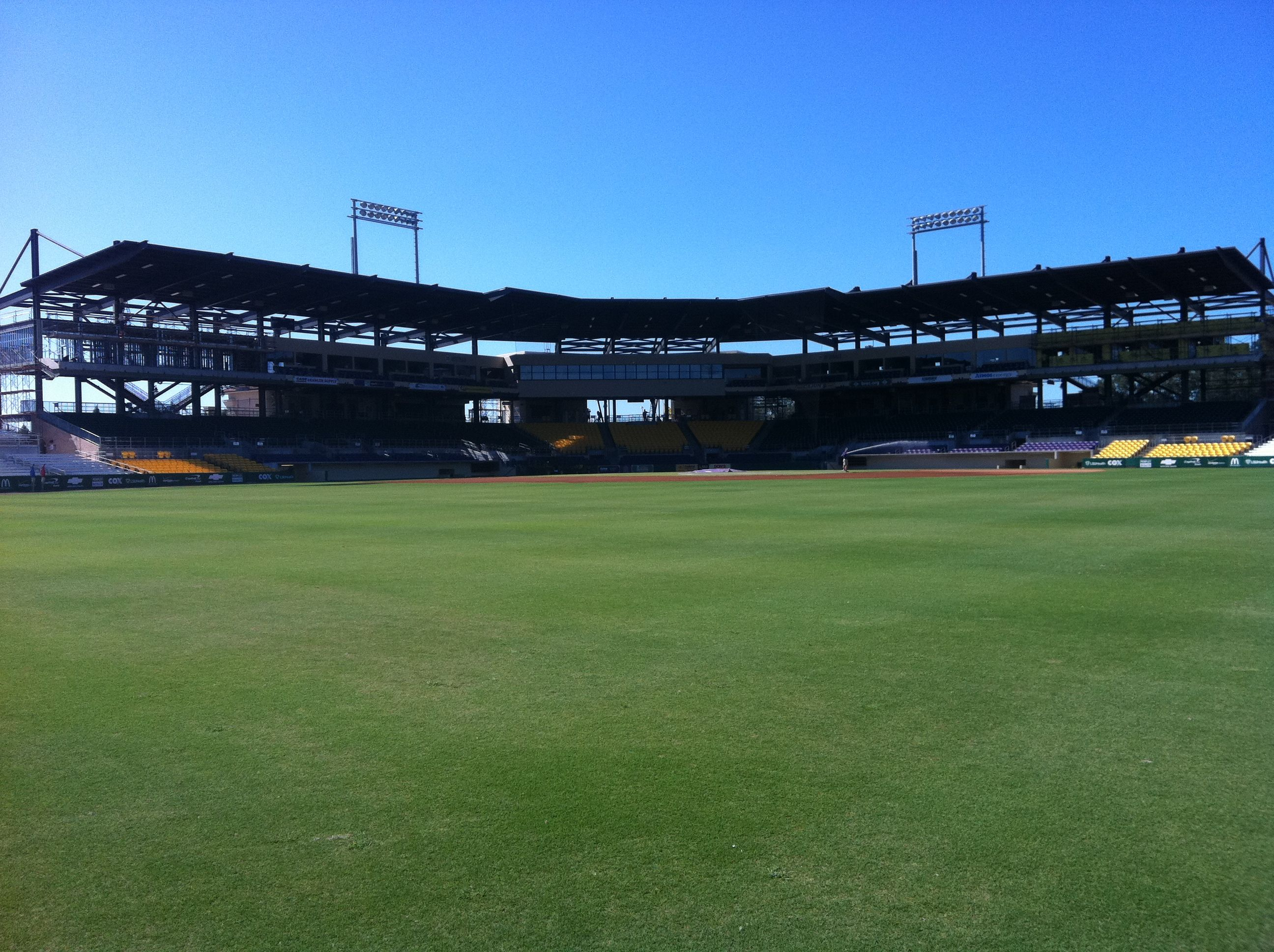 Alex Box Stadium.  Home of the LSU Tigers baseball team.
